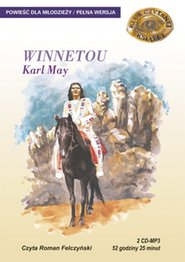 Winnetou Karol May, opowiadanie dla dzieci i młodzieży - Winnetou to trzytomowa opowieść o losach tytułowego, najdzielniejszego wojownika indiańskiego. Dziki Zachód był krainą, w której przyjaźń ceniono wyżej od złota, bez względu na kolor skóry drugiego człowieka. Gdy Indianin wypalił z kimś fajkę pokoju - był gotów przelać za niego ostatnią kroplę krwi. Swojemu białemu bratu - Oldowi Shatterhandowi - Winnetou ufał tak bardzo, że był gotów oddać mu ukochaną siostrę za żonę. Powieść Karola Maya to opowieść o sprawiedliwości, o ludziach honoru, a przede wszystkim o dzikiej, naturalnej krainie, która przeminęła na zawsze - wydanie elektroniczne, mp3, książka audio